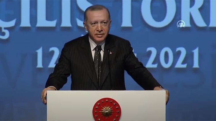 Erdoğan: ''Uzay projesinden bir kesim rahatsız oldu''