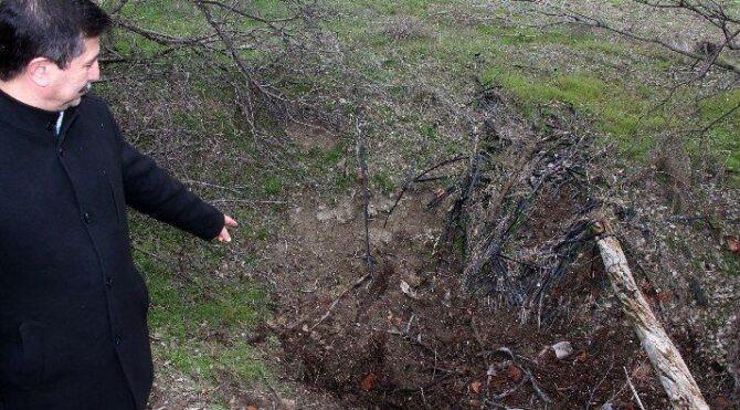 Eşinin cesedini parçalara ayırıp gömen kocanın cesedi belli oldu