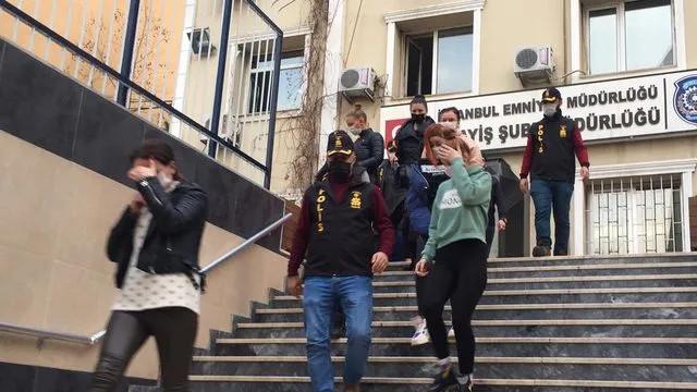 İstanbul'da dev fuhuş operasyonu: 27 gözaltı