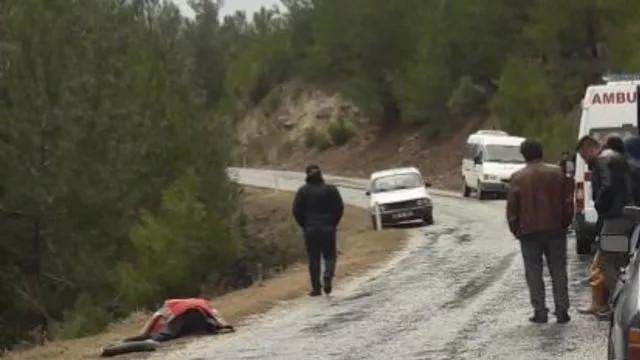 Muğla'da dehşet! Yol üzerinde ölü olarak bulundu