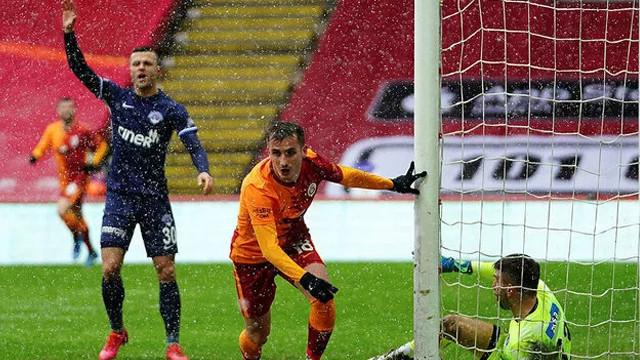 Galatasaray penaltı ile kazandı: Galatasaray-Kasımpaşa: 2-1