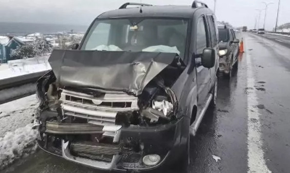 TEM'de zincirleme kaza! İstanbul yönü ulaşıma kapandı