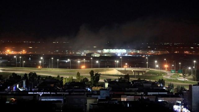Erbil'de ABD üssünün bulunduğu havaalanına füze saldırısı!
