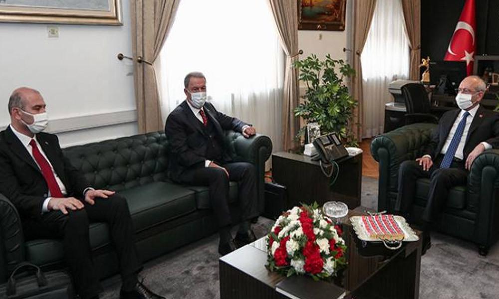 Akar ve Soylu'dan Kılıçdaroğlu'na Gara ziyareti