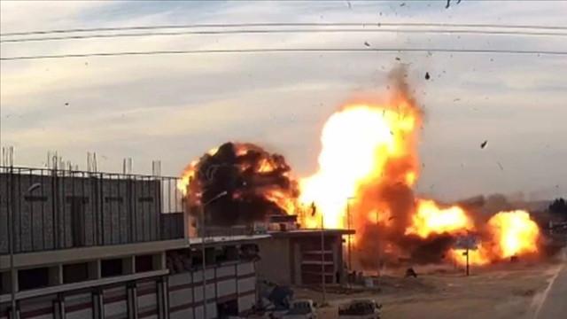 Suriye'nin Bab ilçesinde terör saldırısı: 1 ölü, 4 yaralı