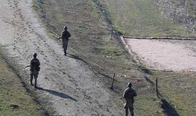 Sınırında 5'i Rus, 1'i Libyalı 6 kişi yakalandı