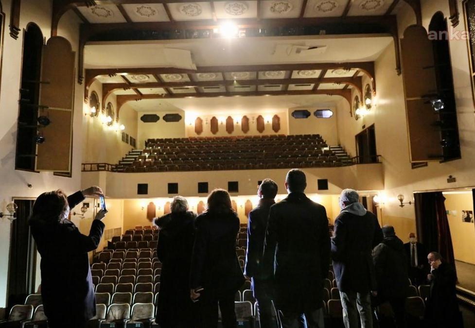 İmamoğlu müjdeyi verdi; İBB'ye devredilen Kenter Tiyatrosu geri dönüyor