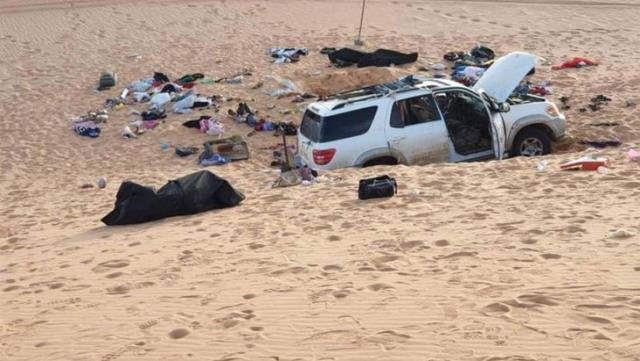 Çölde facia: 8 kişi ölü bulundu