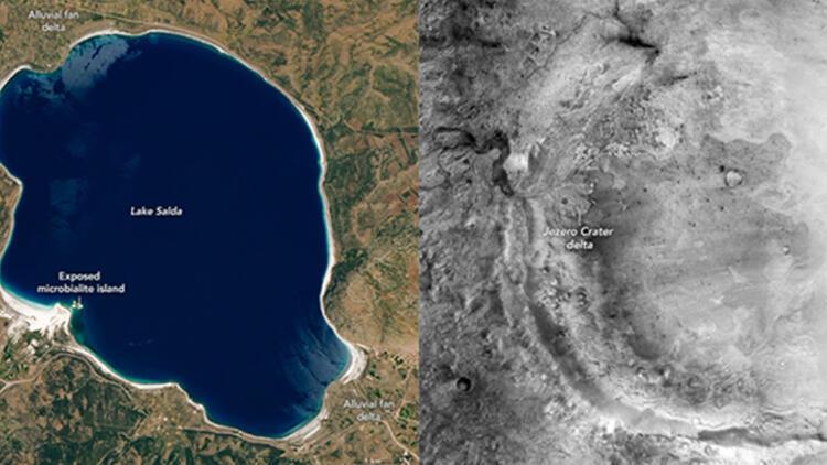 NASA, ''Salda Gölü'' araştırmasının sonuçlarını açıkladı