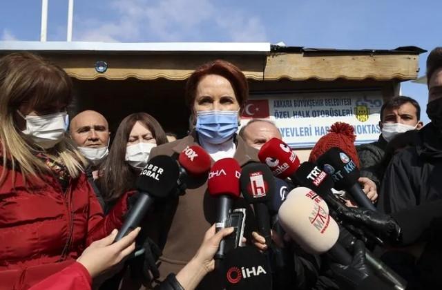 Akşener'den Erdoğan'a: ''Elini yıkayıp çıkamazsın''