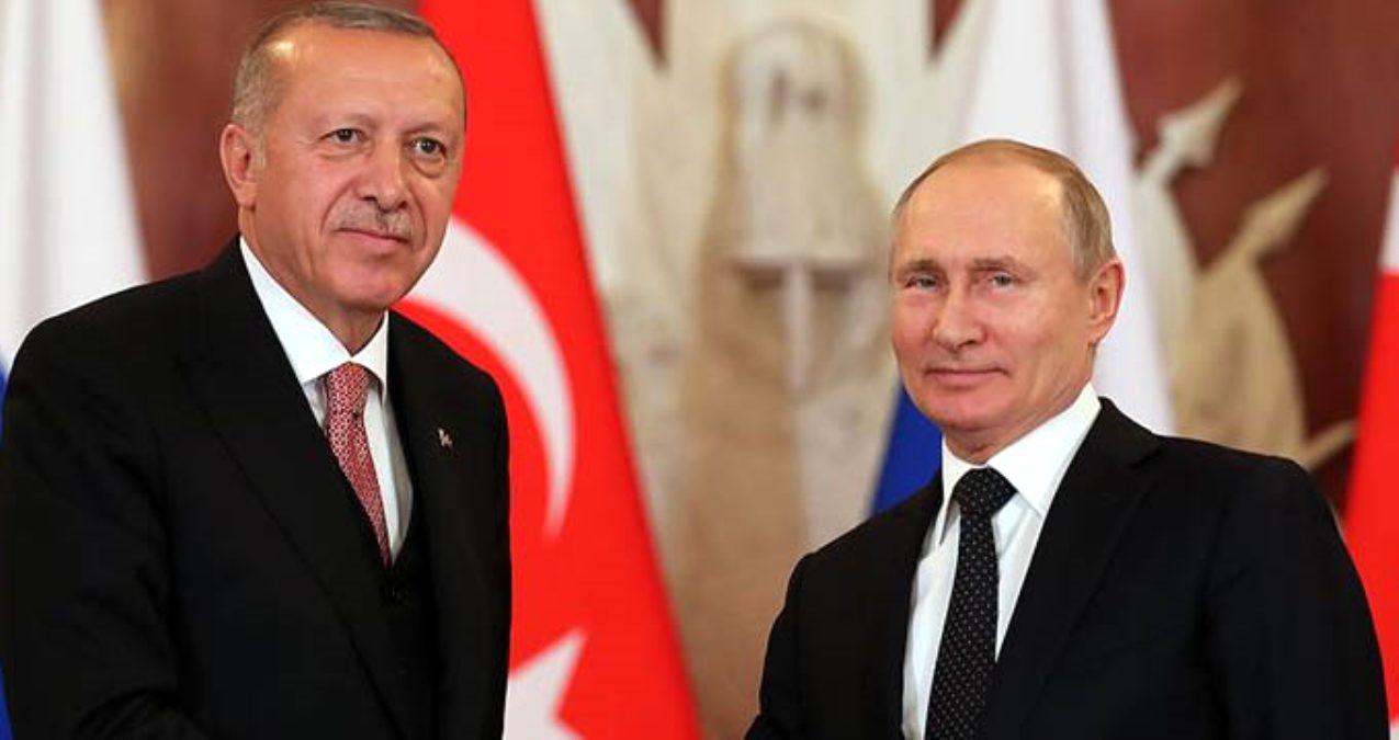 Putin ile görüşen Erdoğan'dan açıklama