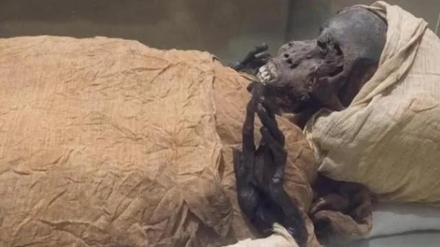 3500 yıllık korkunç gerçek firavunun tomografisinde ortaya