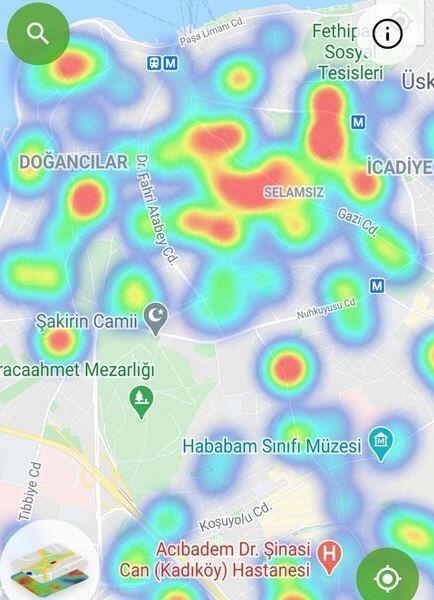 İstanbul'un korona haritası güncellendi! İşte ilçe ilçe son durum - Resim: 2