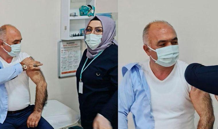 52 yaşındaki AK Partili başkan nasıl aşı oldu ?
