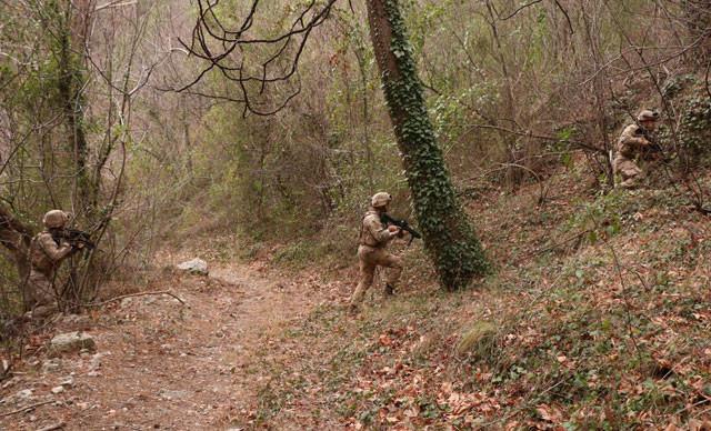 PKK'nın Amanoslar'daki inleri imha edildi