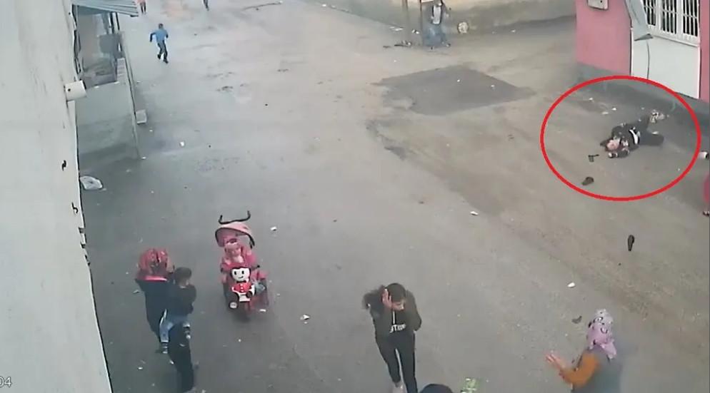 Eşi tarafından darbedilen kadın balkondan aşağı düştü!