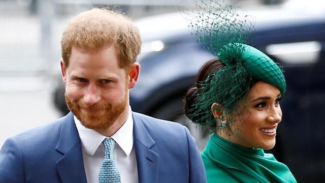 İngiltere'de Harry ve Meghan ayrılıklarını kraliçeye resmen bildirdiler