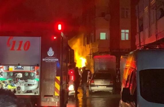 İstanbul'da korku dolu gece: Doğal gaz patladı!