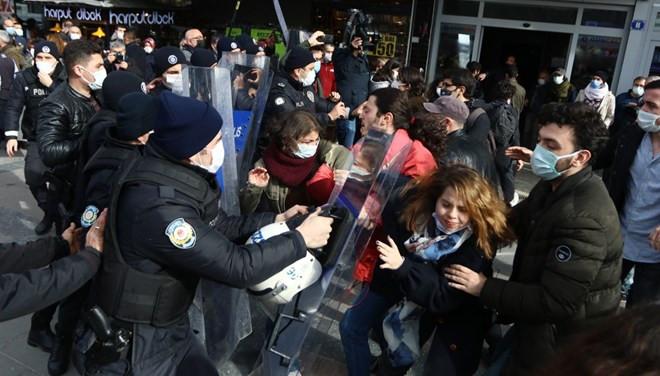 Boğaziçi protestoları Ankara'ya sıçradı: Çok sayıda gözaltı var