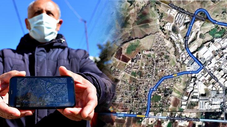 Mahallelinin navigasyon isyanı: Camiye bile gidemiyoruz