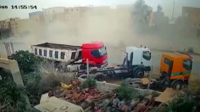 Libya İçişleri Bakanı'na suikast girişimi kamerada!