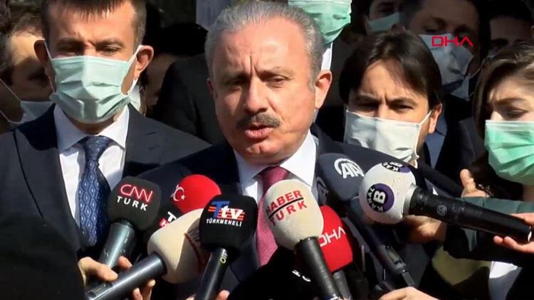 TBMM Başkanı Şentop: Cezaevindeki teröristlere pullar gönderildi