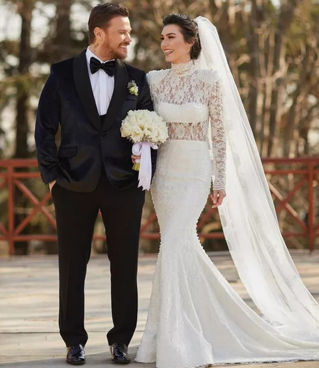 Sinan Akçıl ile Burcu Kıratlı ikinci defa evlendi - Resim: 2