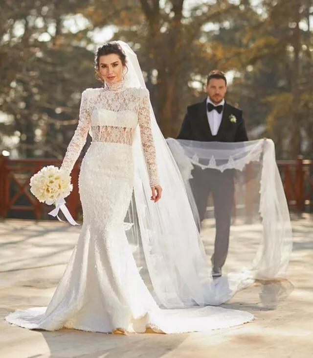 Sinan Akçıl ile Burcu Kıratlı ikinci defa evlendi - Resim: 3