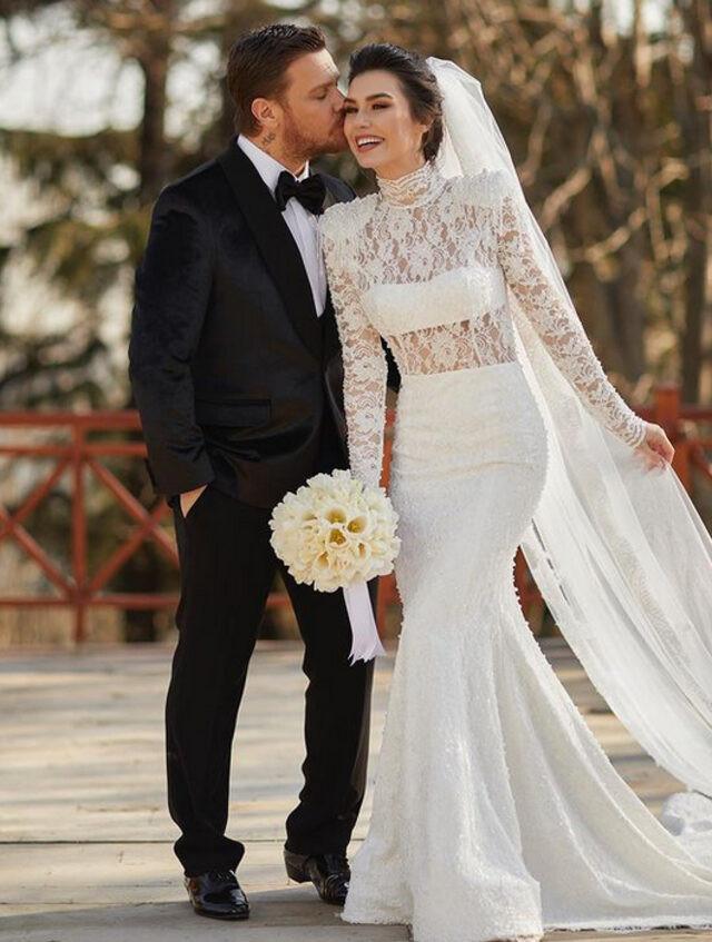 Sinan Akçıl ile Burcu Kıratlı ikinci defa evlendi - Resim: 4