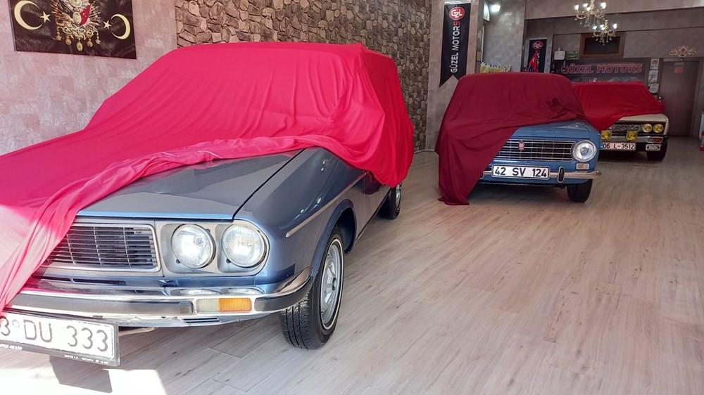 Türkiye'nin efsane otomobilleri fabrikadan çıktığı gibi orijinal duruyorlar!