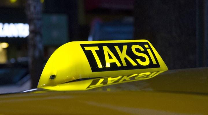 Taksiciye bıçaklı gasp