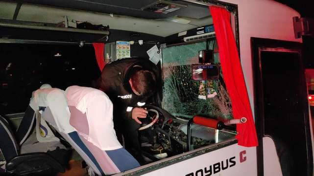 Halk otobüsü ile TIR çarpıştı; yaralılar var!