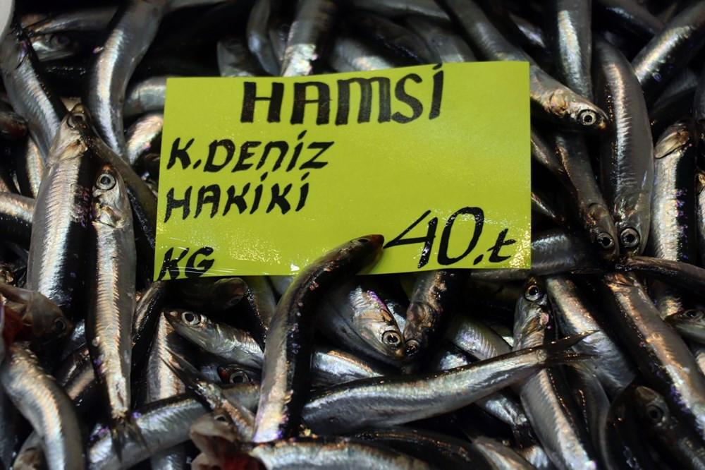 Çanakkale'de tezgahlar dolunca balık fiyatları düştü