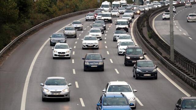 Ocak ayın 117 bin 313 aracın trafik kaydı yapıldı