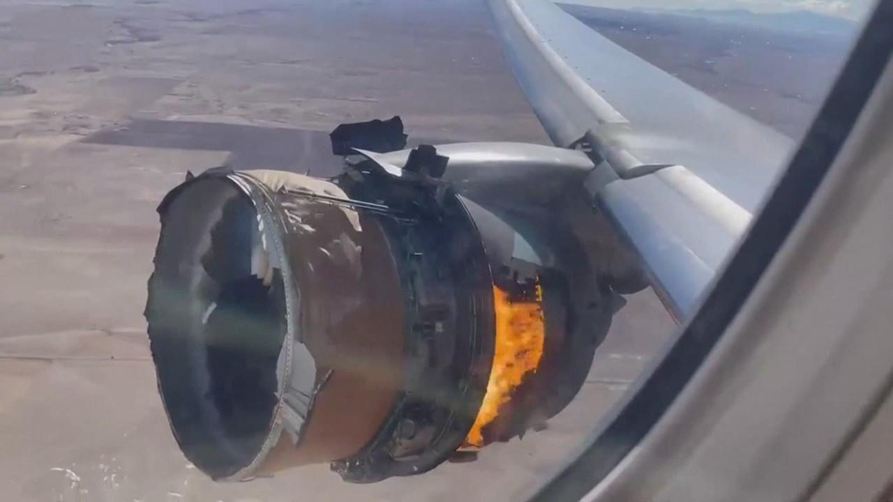 Uçağın motoru alev almıştı! Pilot ile kule arasındaki diyalog ortaya çıktı