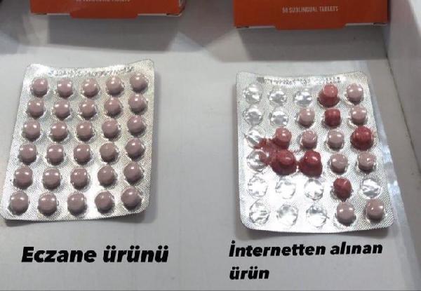 İnternetten vitamin alırken iki kez düşünün!