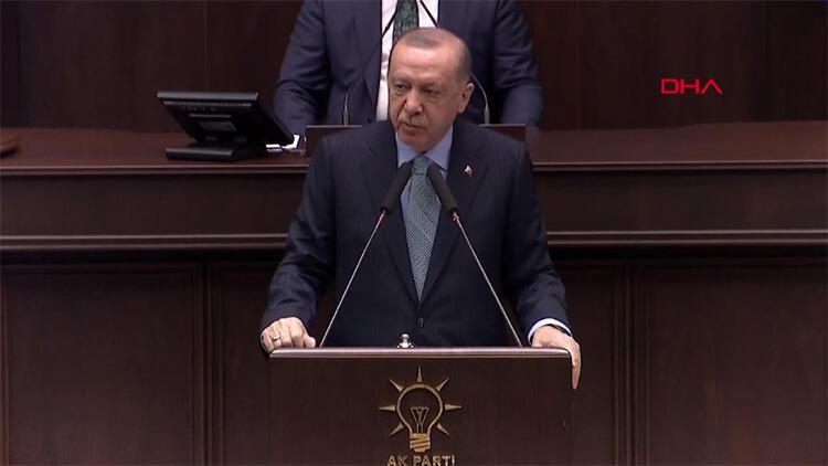 Erdoğan'dan CHP ve İYİ Parti'ye: ''Yüzsüz, karaktersiz, cibiliyetsiz''