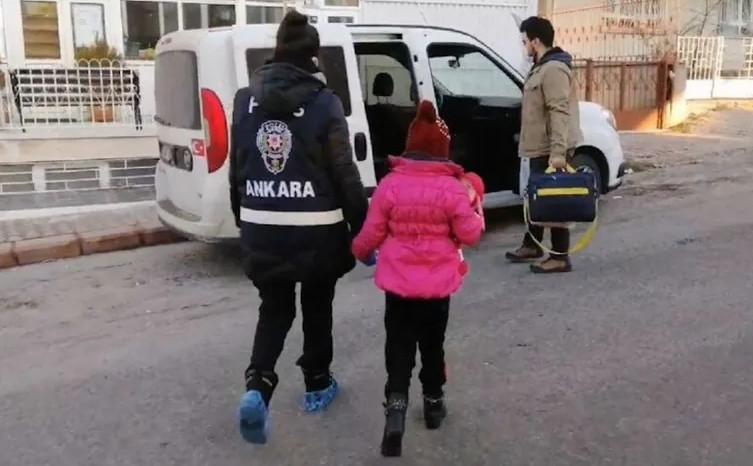 DEAŞ'ın ''ganimet'' olarak kaçırdığı kız çocuğu Ankara'da bulundu!