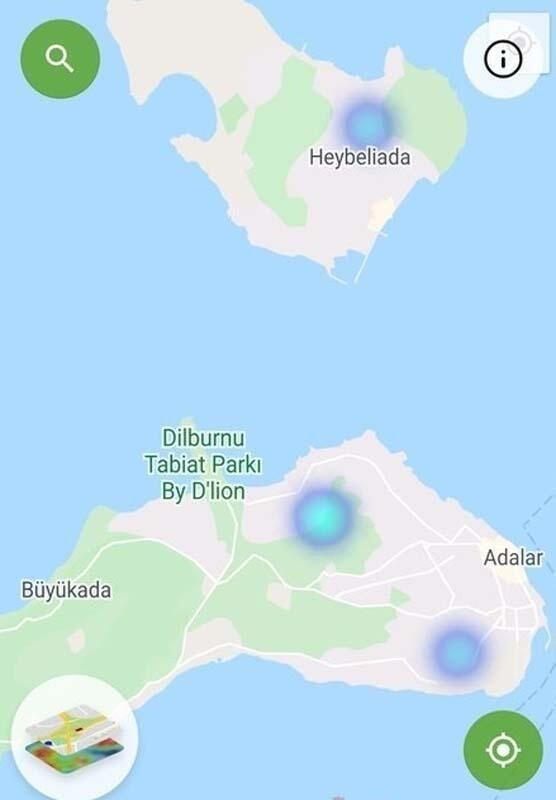 İşte 3 büyük ilimizin ilçe ilçe güncel koronavirüs haritaları - Resim: 2