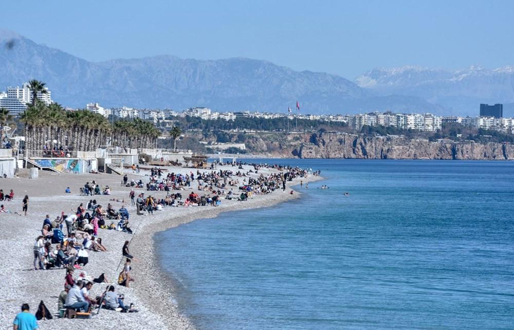 Antalya'ya yaz geldi, korona unutuldu - Resim: 1