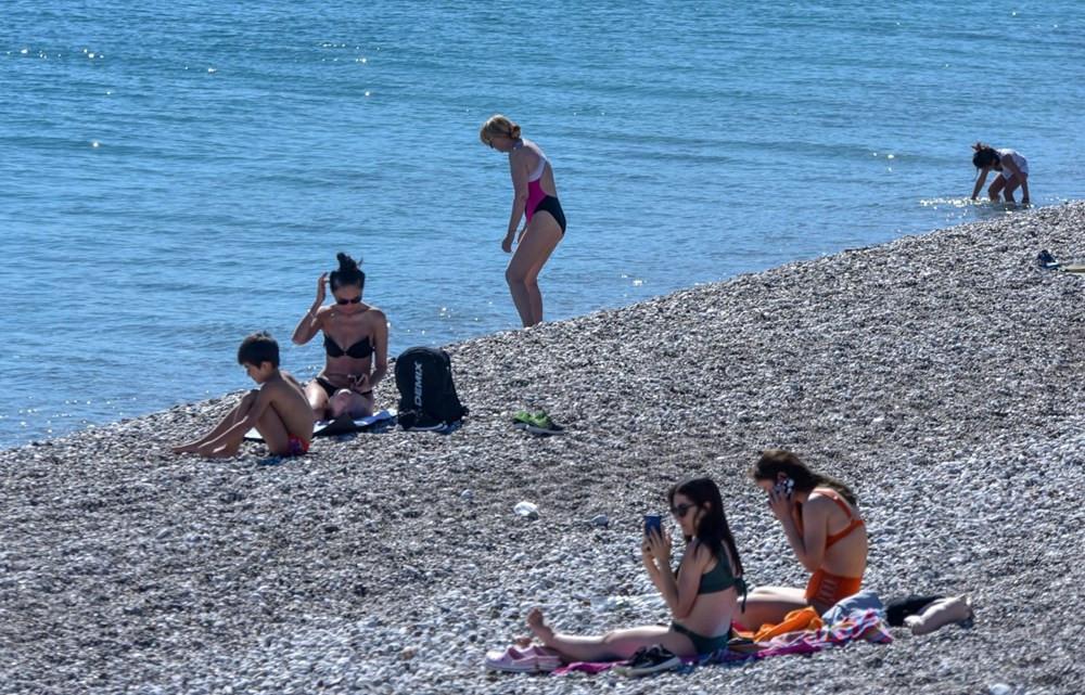 Antalya'ya yaz geldi, korona unutuldu - Resim: 4