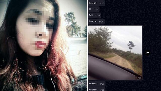 Boğularak öldürülen Ayşe Nazlı'nın son mesajları ortaya çıktı
