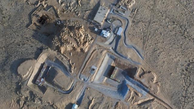 İsrail'in gizli projesi uyduya yakalandı