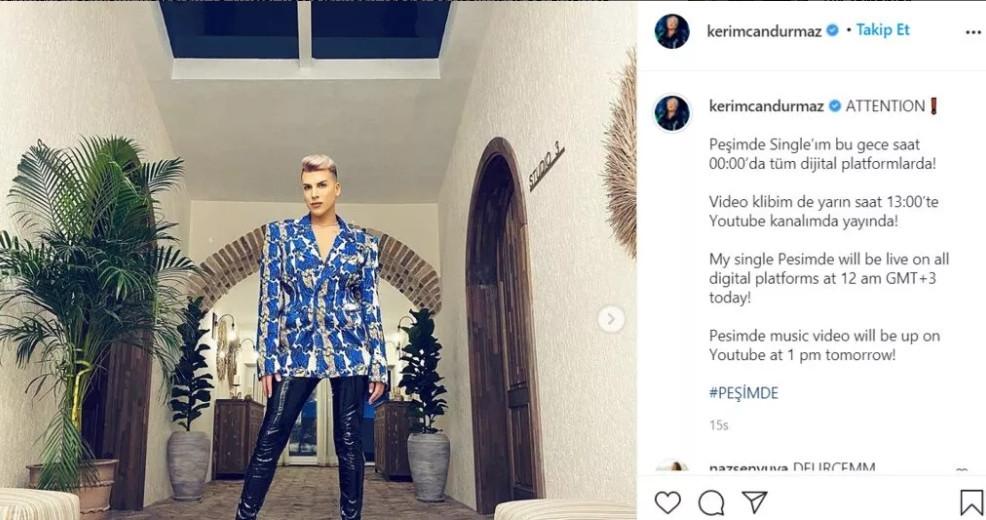 Kerimcan Peşimde klibine sosyal medyada eleştiriler yağmur olup yağdı! - Resim: 3