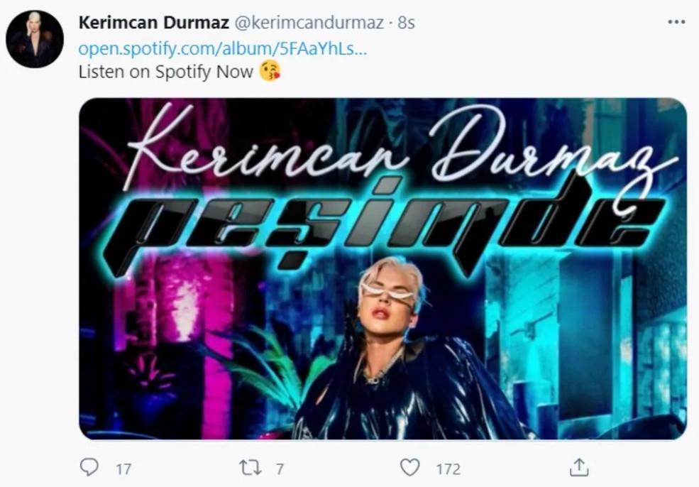 Kerimcan Peşimde klibine sosyal medyada eleştiriler yağmur olup yağdı! - Resim: 4