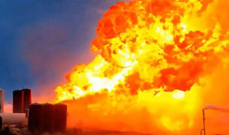SpaceX'in uzay aracı iniş sırasında patladı