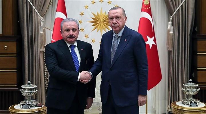 Erdoğan ''yeni anayasa'' dedi, Şentop ''siyasi partiler kanunu''