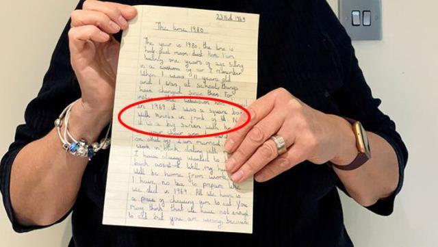 Mobilyanın içinden çıkan mektup şoke etti!