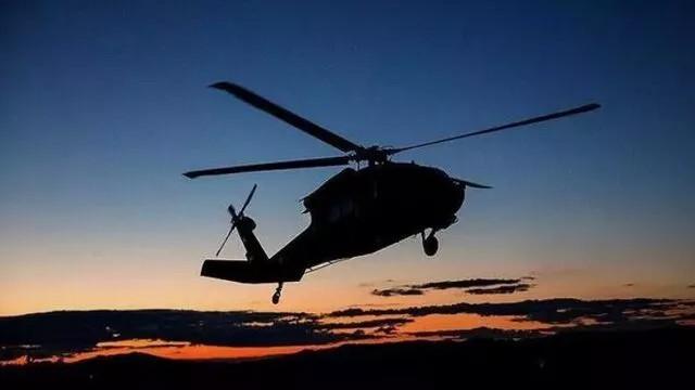 ABD askeri helikopteri düştü: 3 ölü