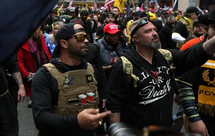 Trump'ı destekliyorlardı; terör örgütü ilan edildiler